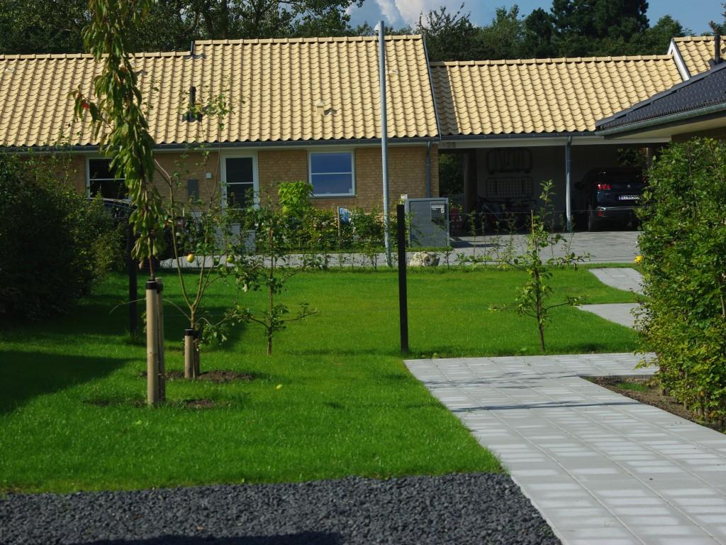 Traktosebelastet have blev forvandlet til en god drømmehave.